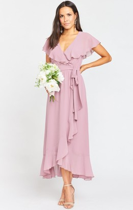 Show Me Your Mumu Jess Ruffle Midi Dress