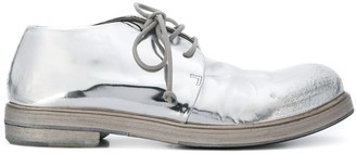 Marsèll metallic lace-up shoes
