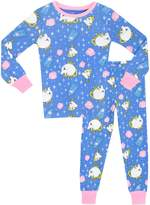 Disney Beauty & the Beast Girls' Mrs Pots & Chip Pajamas