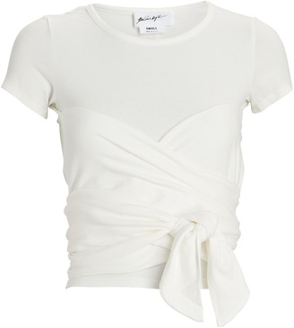 The Line By K Jeanne Ruched T-Shirt