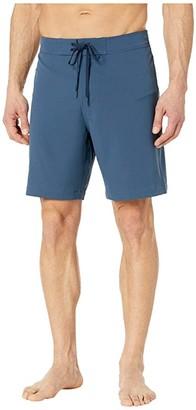Southern Tide Magic Checker Board Water Shorts (Dark Denim) Men's Swimwear