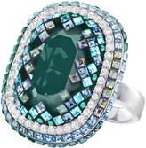 Swarovski Gaia Ring, Green