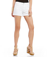 7 For All Mankind Roll Up Denim Shorts