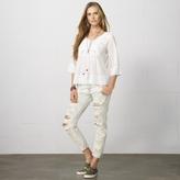 Denim & Supply Ralph Lauren Lace-Bib Cotton Top