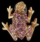 "Jay Strongwater Baby Frog Tack Pin ""Clarice"""