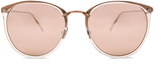 Linda Farrow Rounded Sunglasses