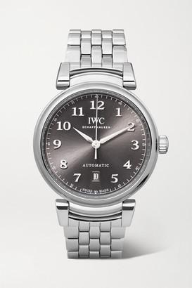 IWC SCHAFFHAUSEN Da Vinci Automatic 40mm Stainless Steel Watch - Gray