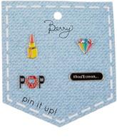 Berry Jewelry Diamond Pop Pin Pack - Set of 4