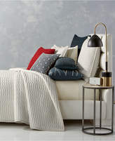 Hotel Collection Modern Wave Quilted Full/Queen Coverlet, Created for Macy's Bedding