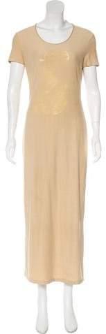 Kenzo Short Sleeve Maxi Dress