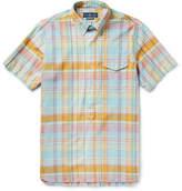Polo Ralph Lauren Button-down Collar Checked Cotton-poplin Shirt - Multi