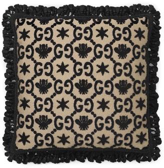 Gucci GG jacquard cushion