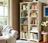 Pottery Barn Samantha Narrow Bookcase, Antique White