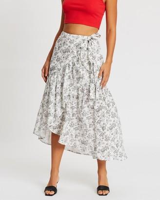 MinkPink Rosehip Midi Skirt