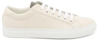 Brunello Cucinelli Monili-chain Leather Trainers - White