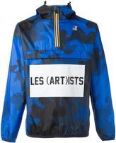 Les (Art)ists K-Way X logo print windbreaker