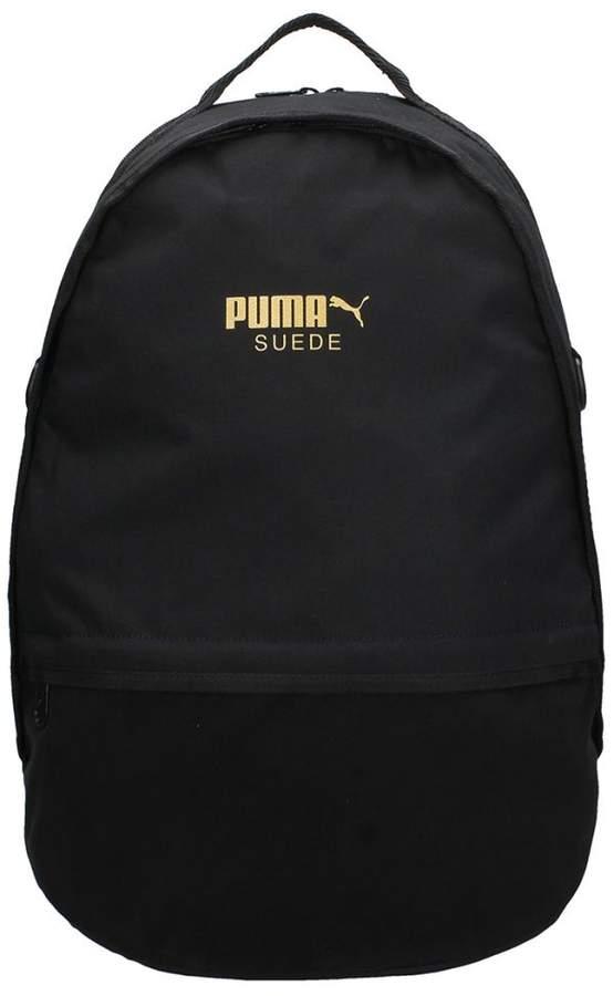 Puma Backpack In Black Fabric