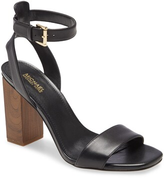 MICHAEL Michael Kors Petra Block Heel Sandal