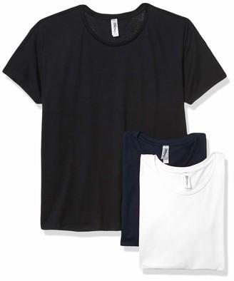 Marky G Apparel Women's Ideal Flow Short Sleeve T-Shirt (Pack of 3)