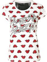 Philipp Plein Lips round neck T-shirt