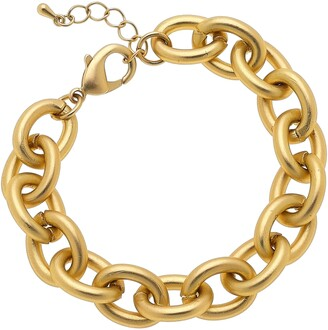 Canvas Jewelry Vera Chain Link Bracelet