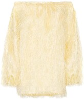 Rotate Gloria off-the-shoulder mini dress