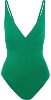 Eres Les Essentiels Larcin Swimsuit - Green
