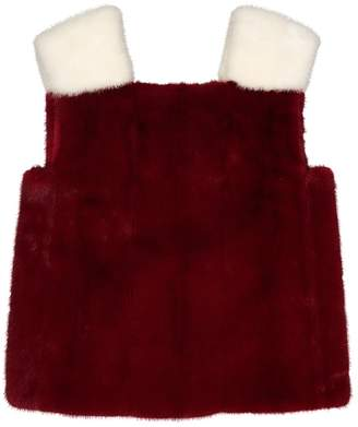 Valentino \N Red Mink Tops