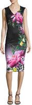 Ted Baker Oldiva Citrus Bloom Midi Dress
