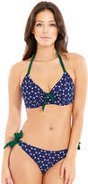 Pour Moi? Pour Moi Spot On Adjustable Halter Underwired Top