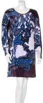 Clover Canyon Printed Long Sleeve Dress