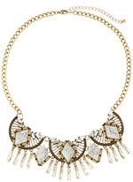Catherine Stein Gold-Tone Multiple Accented Necklace