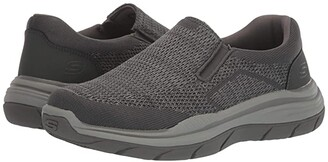 Skechers Relaxed Fit Expected 2.0 - Arago (Black) Men's Shoes