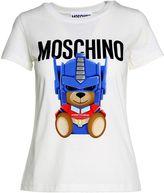 Moschino Transformer Cotton-jersey T-shirt