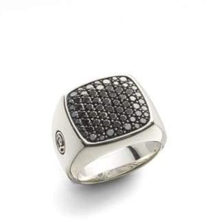 David Yurman Diamond Signet Ring