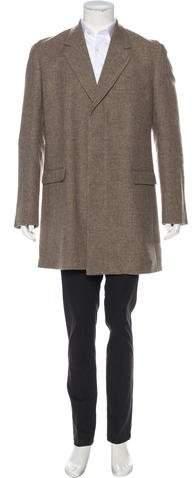 Maison Margiela Wool-Blend Overcoat