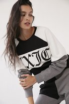 Juicy Couture For UO Color Block Crew-Neck Sweatshirt
