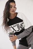 Juicy Couture For UO Color Block Crew-Neck Sweatshirt