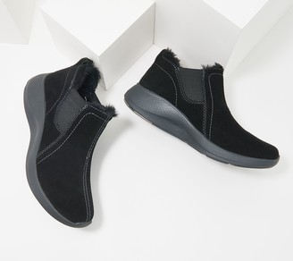 Earth Origins Water Resistant Suede Ankle Boot - Drift Dax