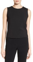 BOSS Women's Ilesia Stretch Wool Shell