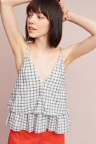 Dina Agam Estelle Plaid Tank