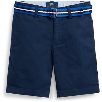 Ralph Lauren Slim Fit Belted Chino Short