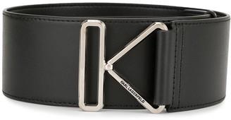 Karl Lagerfeld Paris K buckle belt