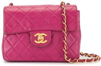 Chanel Pre-Owned 1992 mini flap shoulder bag
