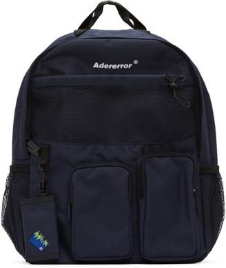 Ader Error Navy Cartridge Backpack