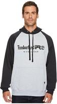 Timberland Hood Honcho Sport Pullover Hoodie (Light Heather Grey/Jet Black) Men's Sweatshirt