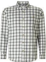 John Lewis Brushed Check Shirt, Grey