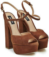 DSQUARED2 Suede Platform Sandals