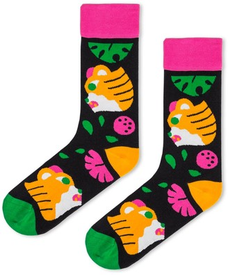 Look Mate London Tiger Socks By Hedof