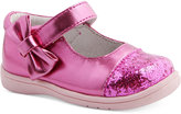 Nina Mobility By Moon Side-Bow Mary-Janes, Baby Girl's (0-4) and Toddler Girls (4.5-10.5)